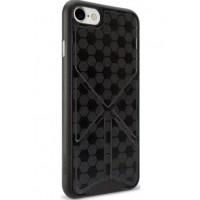 Чехол пластиковый O!coat 0.3+Totem Versatile Black для iPhone 7/8