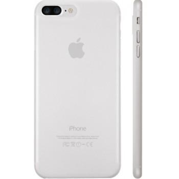 Чехол пластиковый O!coat 0.3+bumper White для iPhone 7/8
