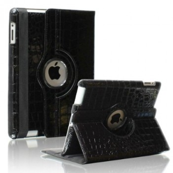 "Чехол 360 Rotating Stand Case Crocodile Black для Apple iPad Pro 9,7"""