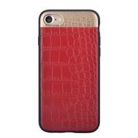 Чехол Comma Croco 2 Leather Case Red для iPhone 7/8