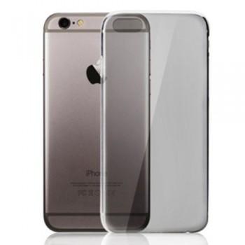 Чехол силиконовый прозрачный Grey для iPhone 7/8 Plus