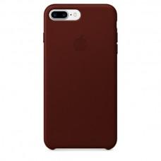 Чехол Apple Leather Case Dark Brown для iPhone 7 Plus/8 Plus