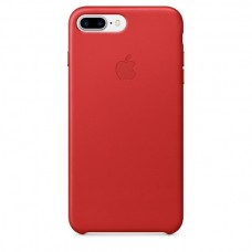 Чехол Apple Leather Case Red для iPhone 7 Plus/ 8 Plus