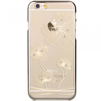 Чехол пластиковый Comma Crystal Flora 360 Champagne Gold для Apple iPhone 7/8