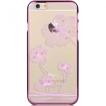Чехол пластиковый Comma Crystal Flora 360 Rose Gold для Apple iPhone 7/8
