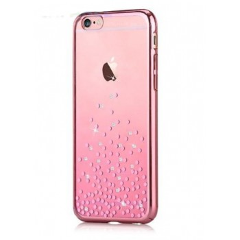 Чехол пластиковый Comma Crystal Unique Polka 360 Rose Gold для Apple iPhone 7/8