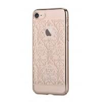 Чехол пластиковый Devia Crystal Baroque Champagne Gold для Apple iPhone 7 Plus/8 Plus