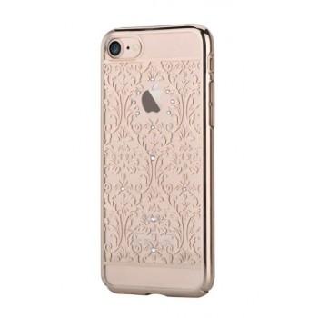 Чехол пластиковый Devia Crystal Baroque Champagne Gold для Apple iPhone 7/8