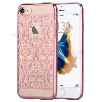 Чехол пластиковый Devia Crystal Baroque Rose Gold для Apple iPhone 7/8