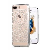 Чехол пластиковый Devia Crystal Baroque Silver для Apple iPhone 7/8