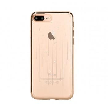 Чехол пластиковый Devia Crystal Meteor Soft Case Champagne Gold для Apple iPhone 7/8