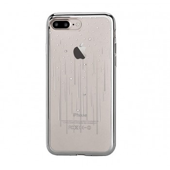 Чехол пластиковый Devia Crystal Meteor Soft Case Silver для Apple iPhone 7/8