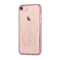 Чехол пластиковый Devia Crystal Meteor Soft Case Rose Gold для Apple iPhone 7/8