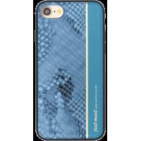 Чехол пластиковый Just Must Fendi I Blue для iPhone 7/8