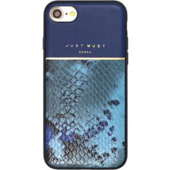 Чехол пластиковый Just Must Fendi II Blue для iPhone 7/8