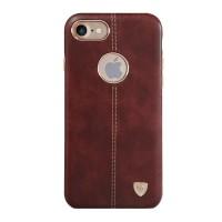 Чехол кожаный накладка Nillkin Englon Brown для iPhone 7/8