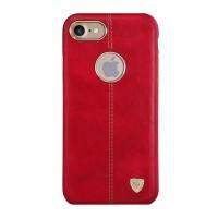 Чехол кожаный накладка Nillkin Englon Red для iPhone 7/8