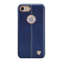 Чехол кожаный накладка Nillkin Englon Blue для iPhone 7/8