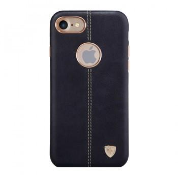 Чехол кожаный накладка Nillkin Englon Black для iPhone 7/8