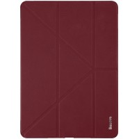 "Чехол Baseus Simplism Y-Type Leather Case Wine Red для iPad 9.7"" (2017/2018)"