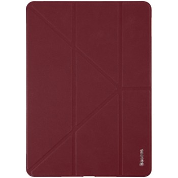 "Чехол Baseus Simplism Y-Type Leather Case Wine Red для iPad 9.7"" (2017/2018)"