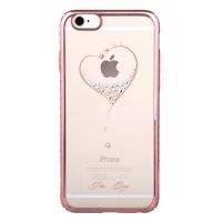 Чехол пластиковый Kingxbar Heart Rose Gold для iPhone 7/8