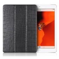Чехол Verus Crocodile Leather Case Black для iPad 2017