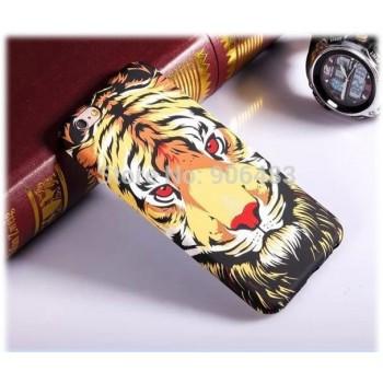 Чехол пластиковый Luxo Funky Animal 3D Case Cover Тигр для iPhone 7/8