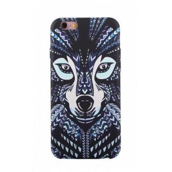 Чехол пластиковый Luxo Funky Animal 3D Case Cover Волк для iPhone 7/8