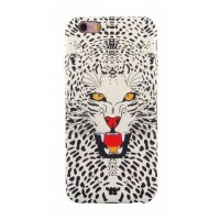 Чехол пластиковый Luxo Funky Animal 3D Case Cover Леопард для iPhone 7/8