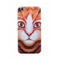 Чехол пластиковый Luxo Funky Animal 3D Case Cover Cat для iPhone 7/8