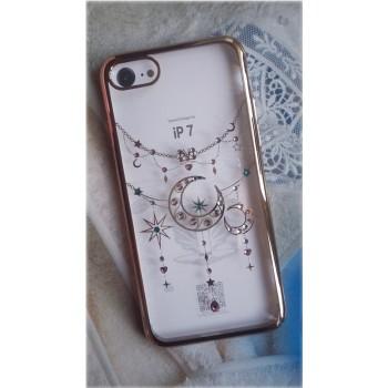 Чехол пластиковый OUcase Star Moon Gold для Apple iPhone 7/8