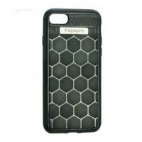 Чехол Spigen Quattro Serie Black для iPhone 7/8