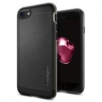 Чехол пластиковый Spigen Case Neo Hybrid Gun Metal для iPhone 7/8
