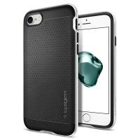 Чехол пластиковый Spigen Case Neo Hybrid Satin Silver для iPhone 7 Plus/8 Plus