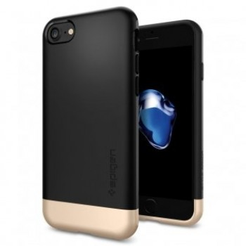 Чехол пластиковый Spigen Case Tough Armor Black для iPhone 7/8