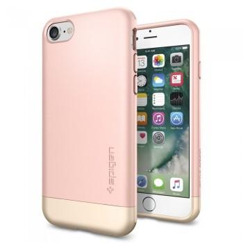 Чехол пластиковый Spigen Case Tough Armor Rose Gold для iPhone 7/8