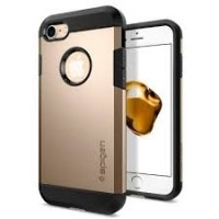 Чехол пластиковый Spigen Case Tough Armor Champagne Gold для iPhone 7/8