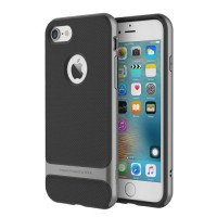 Чехол пластиковый Rock Royce Series Grey для iPhone 7/8 Plus