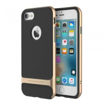 Чехол пластиковый Rock Royce Series Gold для iPhone 7/8