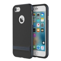 Чехол пластиковый Rock Royce Series Navy Blue для iPhone 7/8 Plus