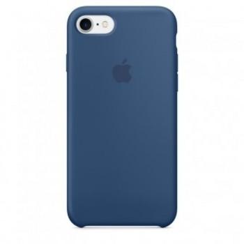 Чехол силиконовый Apple Silicone Case Ocean Blue для iPhone 7/8