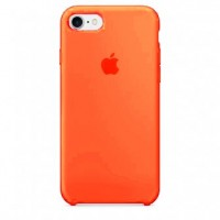 Чехол силиконовый Apple Silicone Case Orange для iPhone 7 Plus/8 Plus