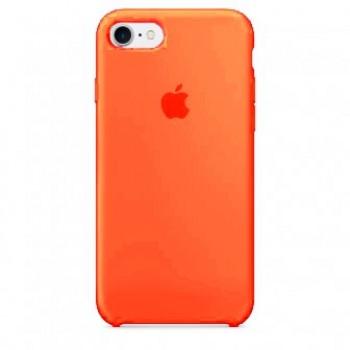 Чехол силиконовый Apple Silicone Case Orange для iPhone 7/8