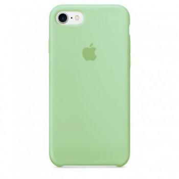 Чехол силиконовый Apple Silicone Case Mint для iPhone 7 Plus/8 Plus