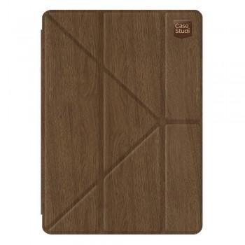 "Чехол-книжка кожаная Casestudi Folding Wood Brown для Apple iPad Pro 9,7"""