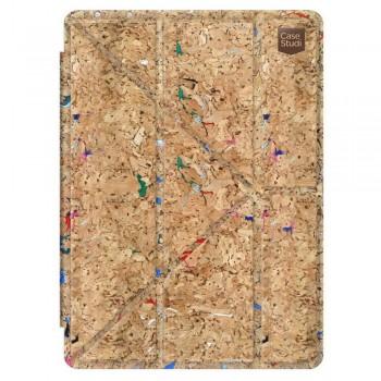 "Чехол-книжка Casestudi Folding Corkwood Mix Brown для Apple iPad Pro 9,7"""