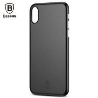 Чехол пластиковый Baseus Wing Case Black для iPhone X/XS