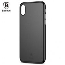 Чехол Baseus Wing Case для iPhone X Black