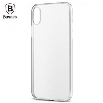 Чехол пластиковый Baseus Wing Case White для iPhone X/XS